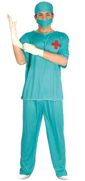 Disfraz de Cirujano para hombre