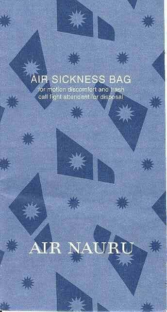 Air Nauru Air Sickness Bag