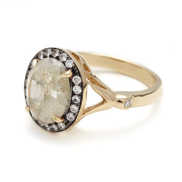 Cute Grey Luna Bridal RingsWedding RingsRing EngagementCommitment