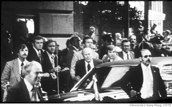 http://ift.tt/2qBp8hT President Ford survived two assassination attempts in the same month. On Sept. 5 1975 by Lynette Fromme and on Sept. 22 by Sara Jane Moore. They both received life sentences.