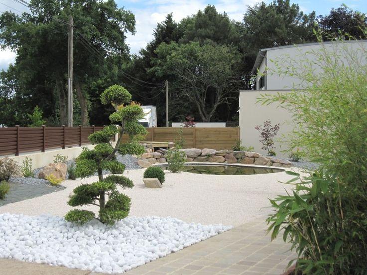 Ilex crenata bassin d 39 agr ment filtration oase mariage garden - Deco jardin japonais zen dijon ...