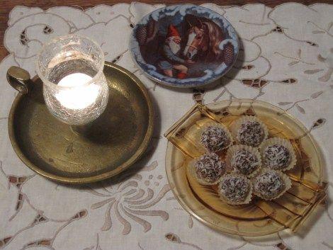 Mörk Chokladtryffel med Passionsfrukt