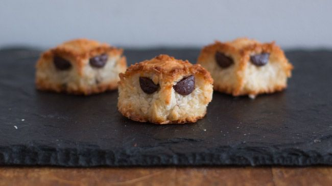 chocolate chip coconut macaroon owls