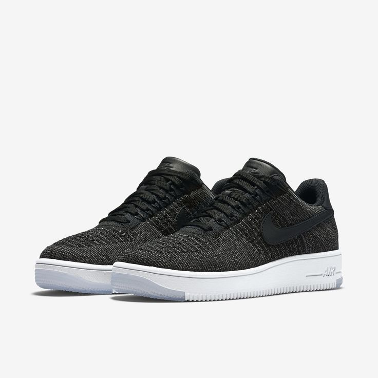 The Nike Air Force 1 Flyknit Low Women's Shoe.