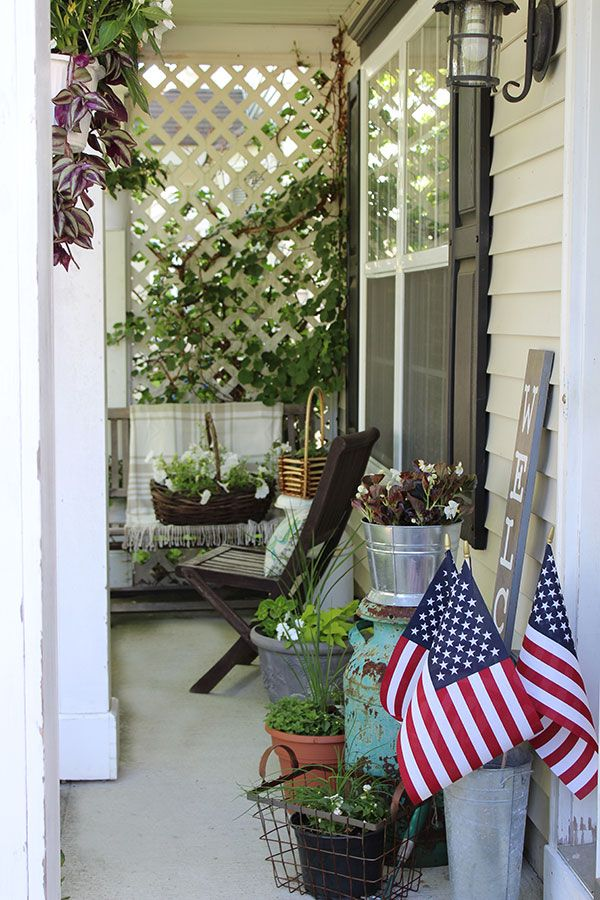 Summer Front Porch Decorating Porch Decorating Summer Front