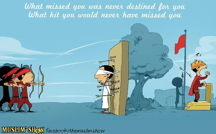 What missed you was never destined for you