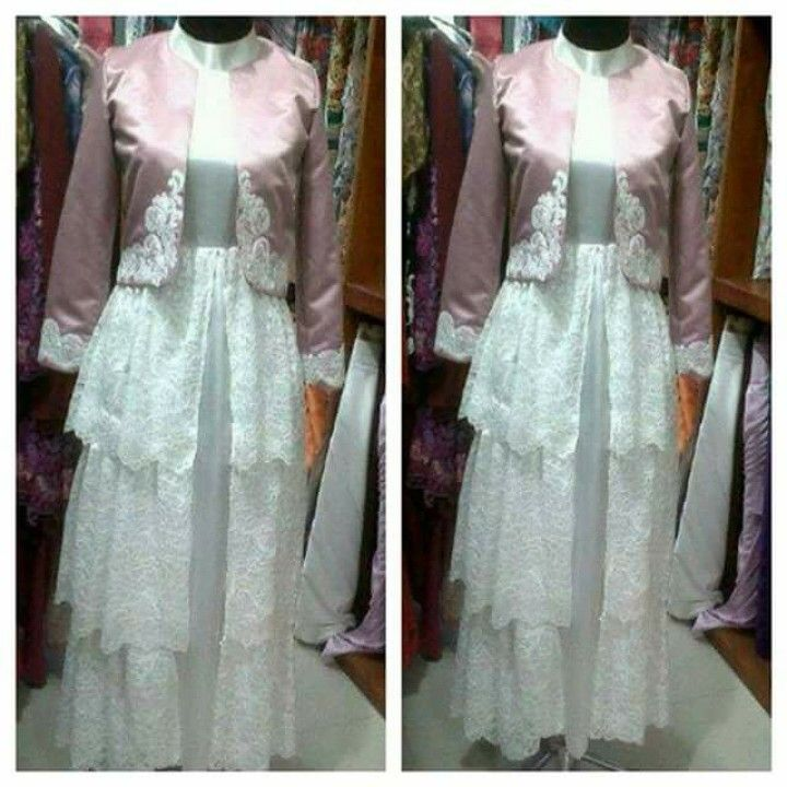 Gamis pesta laviola (PO) idr 725.000 warna by request dp 50%