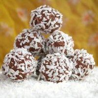 Sjokoladekuler som er enkle å lage, og smaker deilig til kaffen.