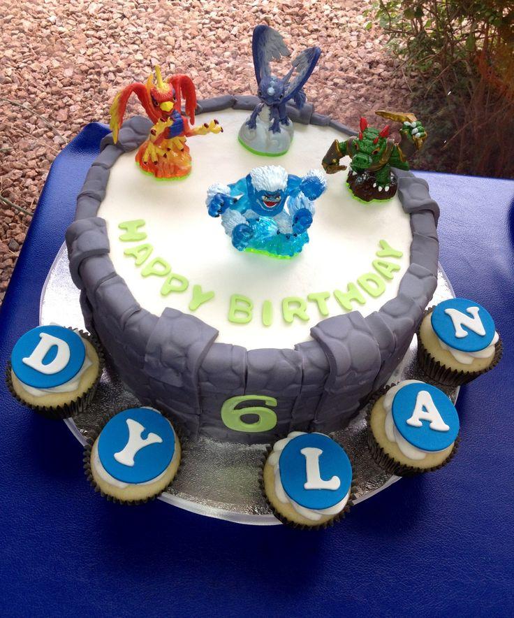 Skylander birthday cake.