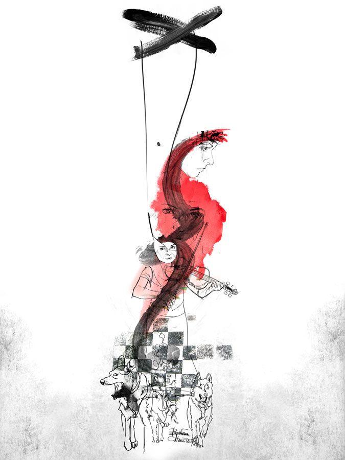 """""""Marionetka"""" www.bogna.art.pl"""
