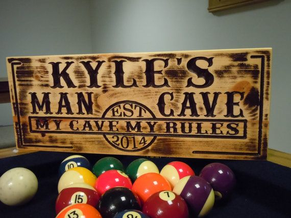 Best Man Cave Signs : Best etsy tkwoodcrafts images camping campsite