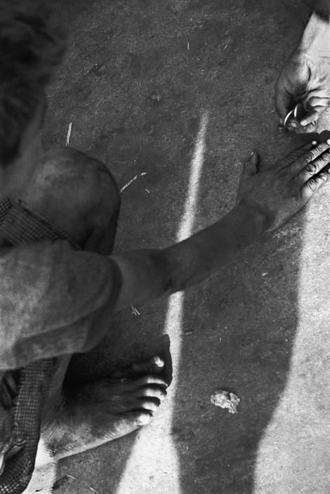 Sergio Larrain - Chile. Los Abandonados , 1957 - In Santiago there is a vast population of vagabond children who beg in the parks, sleep anywhere they can, forming an independant sort of tribe in the middle of the city with their own language, customs, etc.