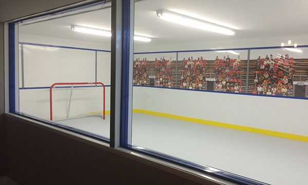 Synthetic Ice Photo Gallery | Commercial Ice Rinks | KwikRink Synthetic Ice®