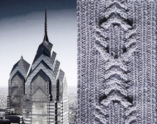 dagworthy:  Soft Architecture. Here are some swatches I knit up...
