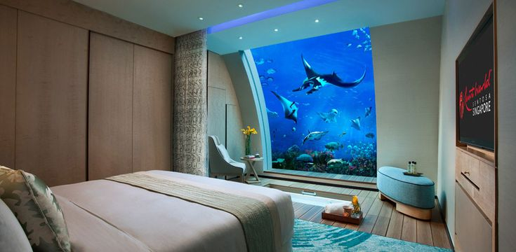 One of 11 Ocean Suites at the Sentosa Resort in Singapore