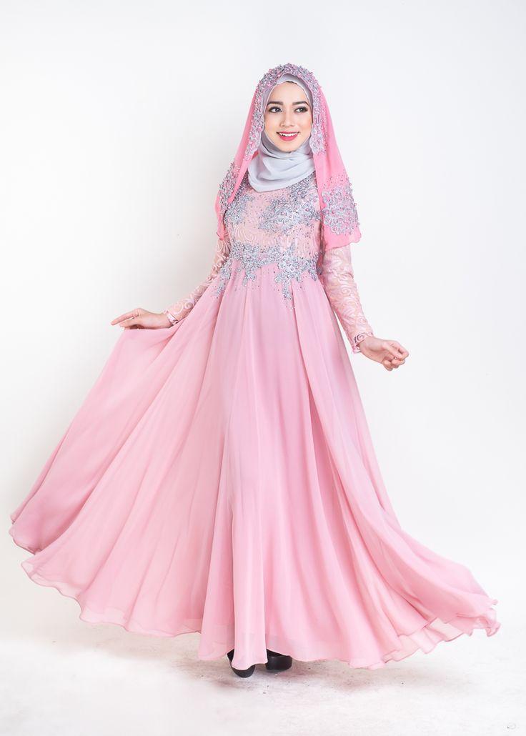 Dress pengantin muslimah
