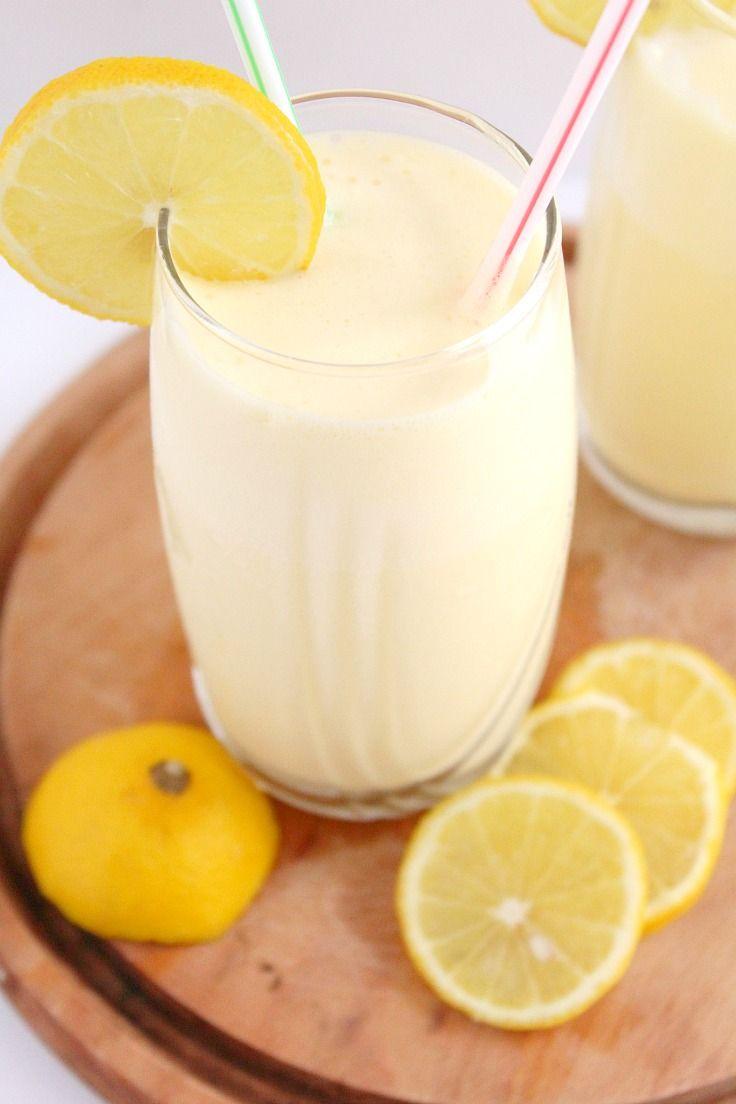Frosted lemonade recipe #TriplePFeature