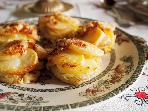 Mini potato dauphinoise