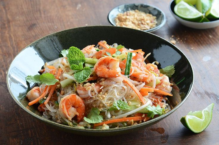 Tasty Kitchen Blog: Vietnamese Summer Roll Salad. Guest post by Faith Gorsky of An Edible Mosaic, recipe submitted by TK member Vicky of Avocado Pesto.
