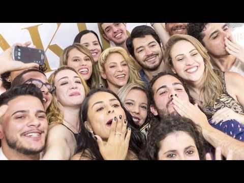 Shakira compartilha vídeo do fã-clube Portal Shakira #ToneladasDeAmor