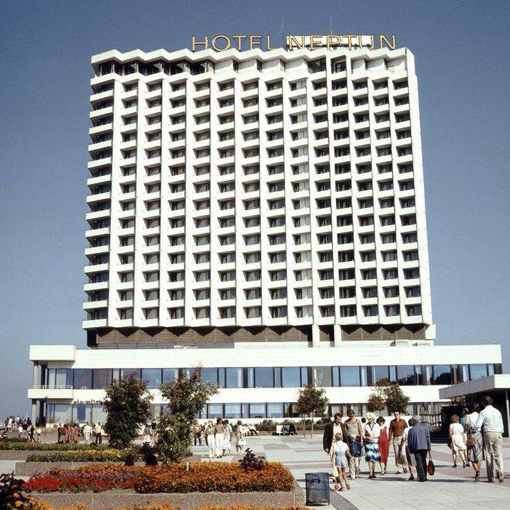Hotel Neptun, Warnemunde DDR 1970's