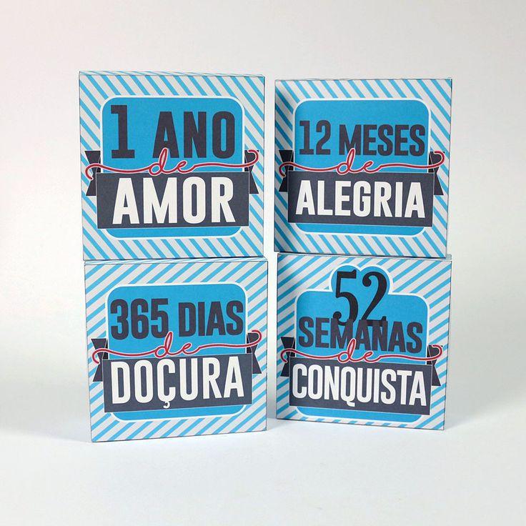 No post de hoje trouxe um kit de lembranças para os aniversariantes de Amor! ♥ A ideia é: Você vai presentear com 4 caixinhas. Uma delas…