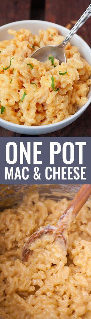 Un pot mac et fromage   – Rezept