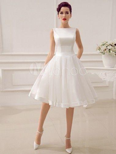 Robe de mariée courte style vintage neuve | Annonces Dentelle