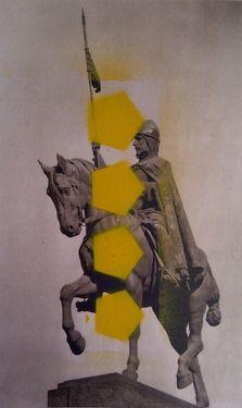 "Saatchi Art Artist Joel Hamilton; Collage, ""Prague 3"" #art"