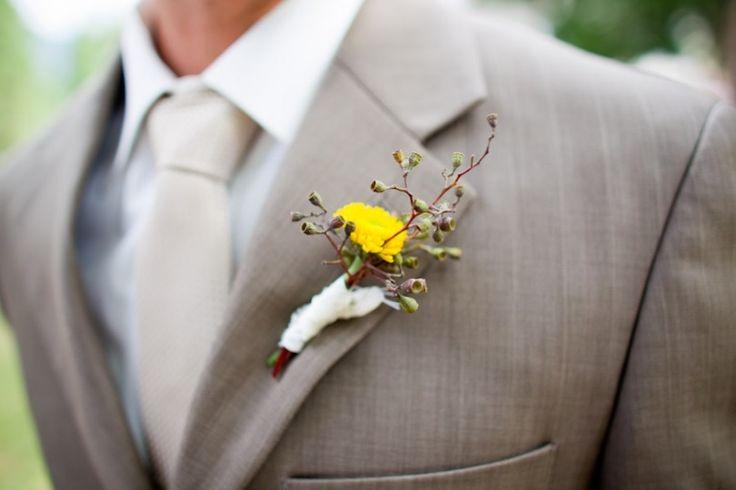 light grey groom