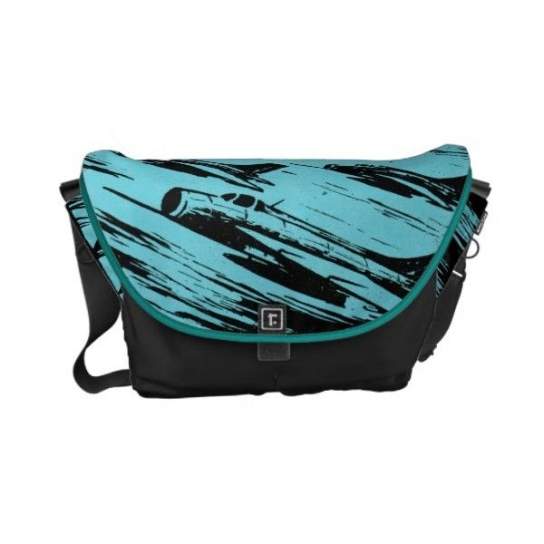 Earth Aerospace Force Messenger Bag (36.895 HUF) ❤ liked on Polyvore featuring bags, messenger bags, courier bag, messenger bag, blue bag and blue messenger bag