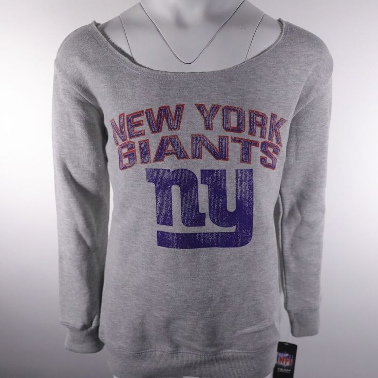 New NFL New York Giants Youth Girls NFL Sweatshirt With. The perfect gift for the up and coming Giants fan! • Official NFL Fan merchandise. If you wish we will provide a small note if the item is being sent as a gift. | eBay!