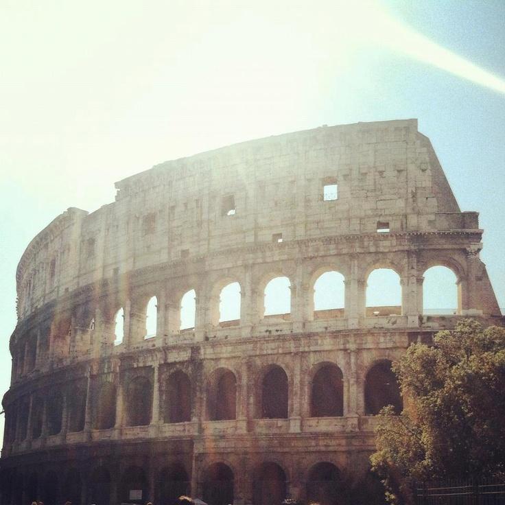 The Colosseum, Roma, Italia