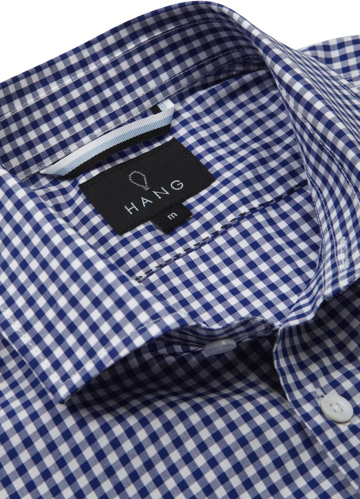 Zurich Classic Shirt Detail #Checked #Hang #Menswear #Style