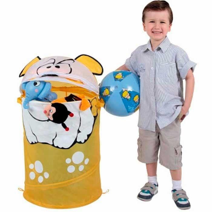 Porta Brinquedos Bulldog - Organize a Casa - Organize Seu Dia
