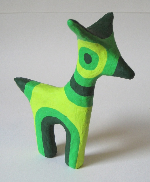 paper mache animal by mumblion, via Flickr