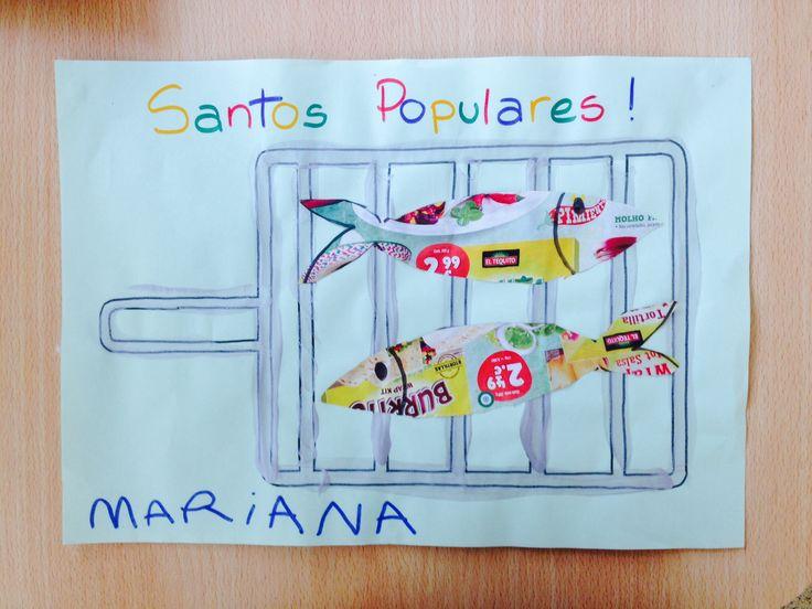 Sardinhas nos santos populares!