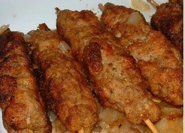 Olenka's Ukrainian Kitchen: Patychky: Meat on a Stick