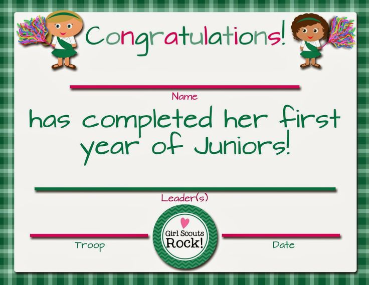 Girl Scouts Investiturere