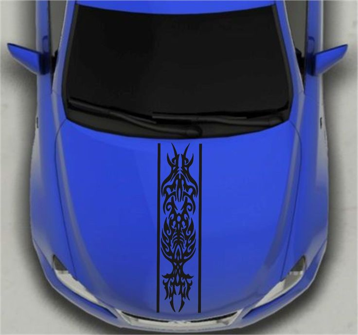 Graphics For Blue Car Hood Decals And Graphics Wwwgraphicsbuzzcom - Vinyl decals cartribal hearts decal vinylgraphichood car hoods decals and