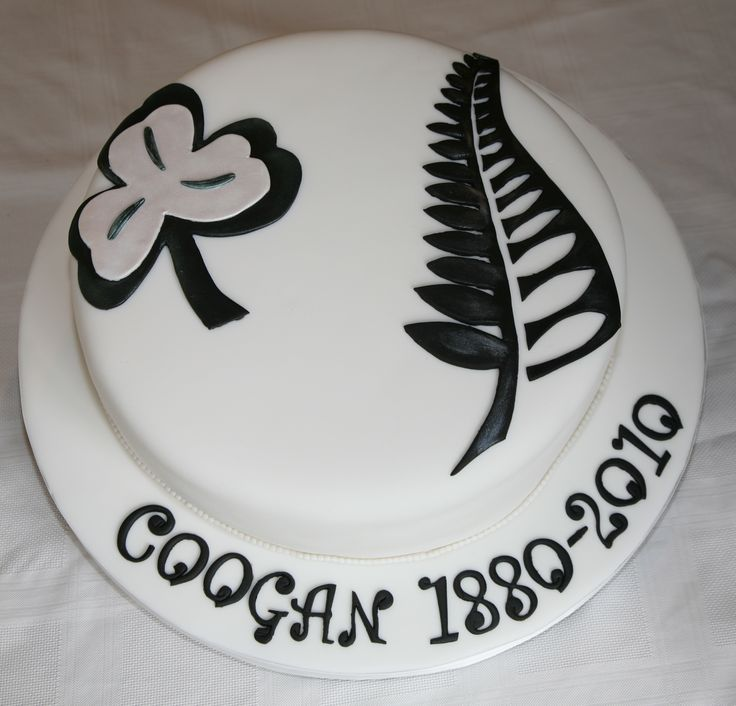 From Ireland to New Zealand Family reunion cake