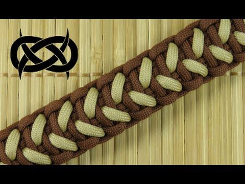 T.G. Solomon Bar Paracord Bracelet *** The T.G. Solomon Bar is based on Terry Grossmann's Sanctified paracord bracelet design. This version uses one cord to ...
