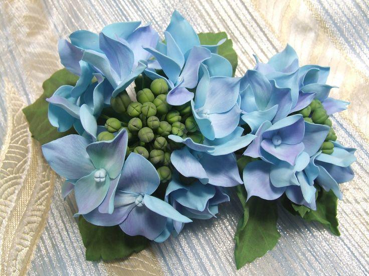 Мастер-класс по созданию цветка гортензии из фоамирана