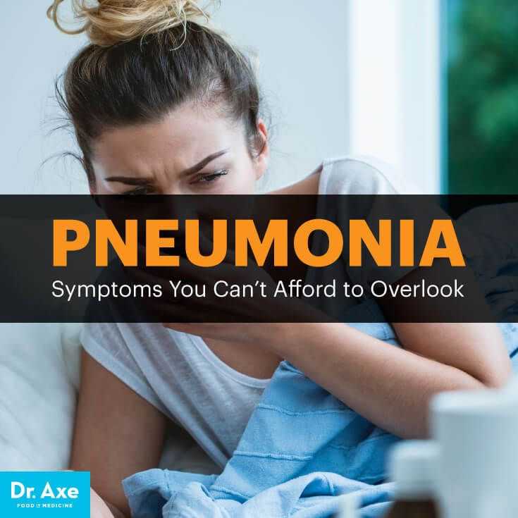 Pneumonia symptoms - Dr. Axe http://www.DrAxe.com #health #holistic #natural