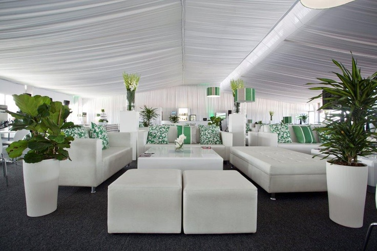 Layout in Green and White