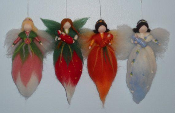 Beautiful four season fairies