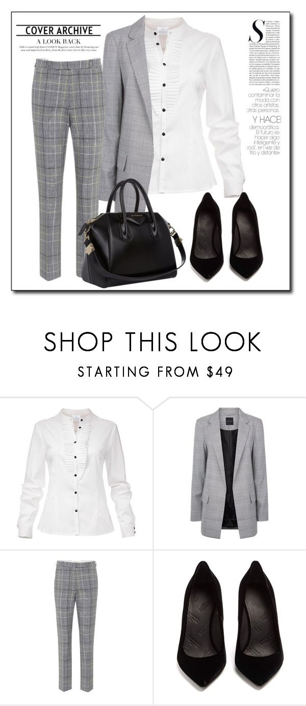 """I still wanna know if you're alone"" by holography ❤ liked on Polyvore featuring Etro, Maison Margiela and Givenchy"