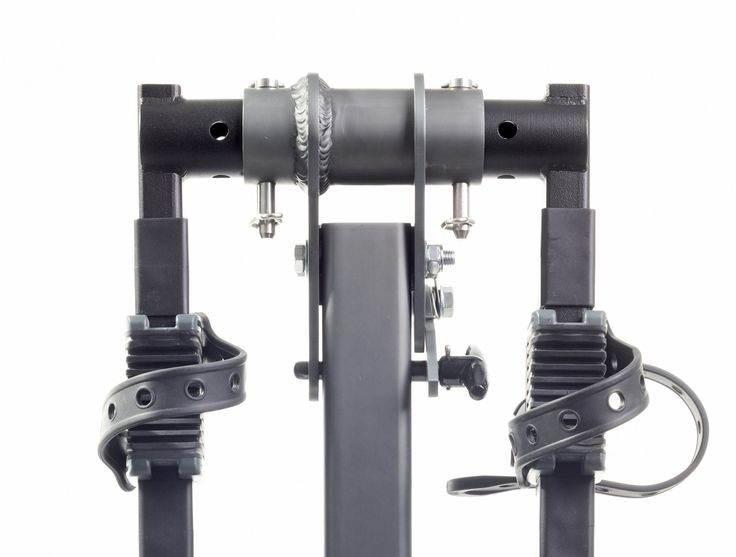 """Softride Alumina 3-Bike Rack, Aluminum, Hitch Mounted Bike Carrier for 2"""" and 1.25"""", Swings Down With Bicycles Loaded, Allows Trunk, Hatch, or Tailgate Access; fits Cars, SUVs, Vans, or Trucks. (26248). Unique parallelogram base tilts carrier away from vehicle for trunk, hatch, or tailgate access - load your groceries or gear in the back without having to take your bikes off the rack. Lightweight aluminum is perfect for taking on and off frequently. Arms carry 3 bikes; easily adjust in…"""