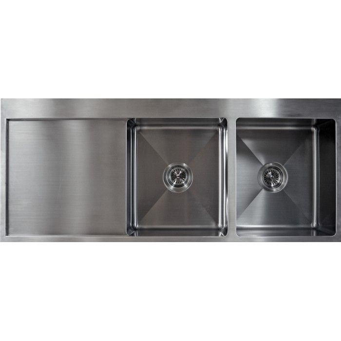 Stainless Steel Double Sink With Drainer   UDD1205020 UDD1205020