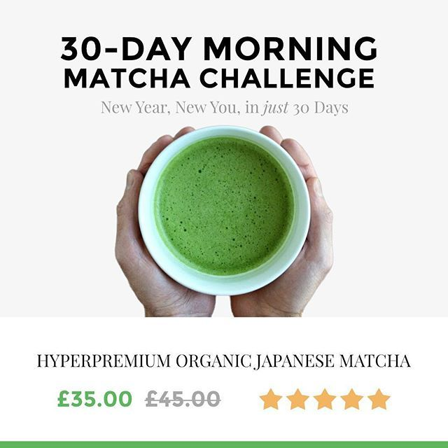 Are YOU up to the challenge? IT STARTS NOW!! Replace your morning cup of coffee with 🍵 for 30 days. Make 2017 YOUR year with boundless focus, energy and zen.  Guaranteed to improve your energy and mood in just a few short days.  Follow the link in Bio & Buy now to get FREE Enhanced Shipping Worldwide 🌎  #matchachallenge #newyear2017 #newyearnewme #matcha #energyboost #mindfullness #focus #healthy #resolution2017 #dreambig #betterme #challenge #beultimate #ultimatematcha